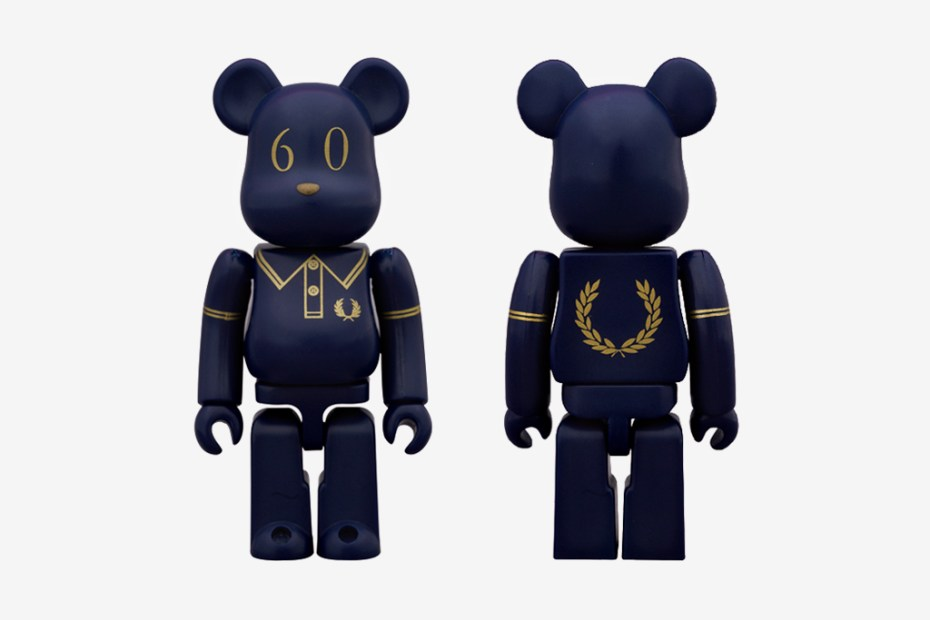 Image of Fred Perry x Medicom Toy 60th Anniversary Bearbrick