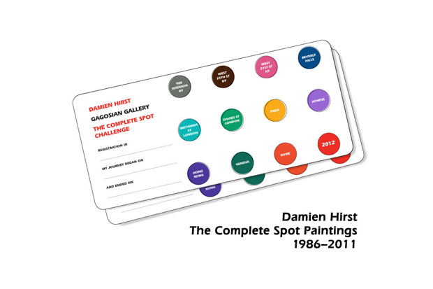 Image of Gagosian Gallery: Damien Hirst - The Complete Spot Challenge
