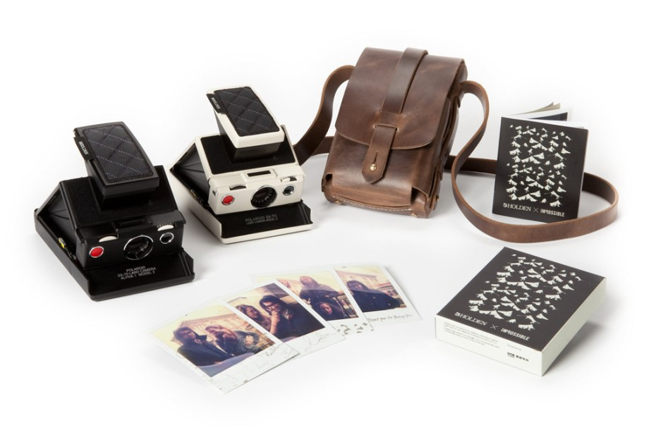 Image of Holden x Tanner Goods x IMPOSSIBLE SX-70 Camera Kit