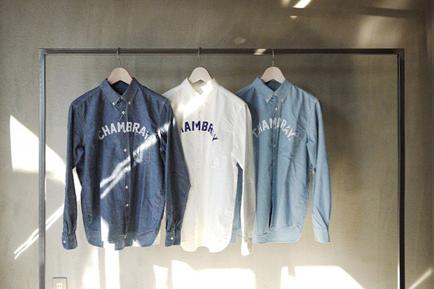 "Image of IMIND 2012 Spring/Summer ""Chambray"" Dickerman Shirt"