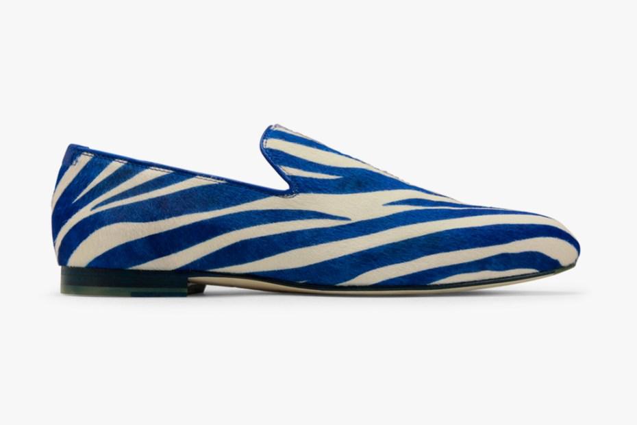 Image of Jimmy Choo 2012 Spring/Summer Zebra Slip-On