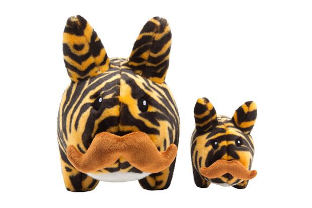 Image of Kidrobot  Tiger Stache Labbit Plush