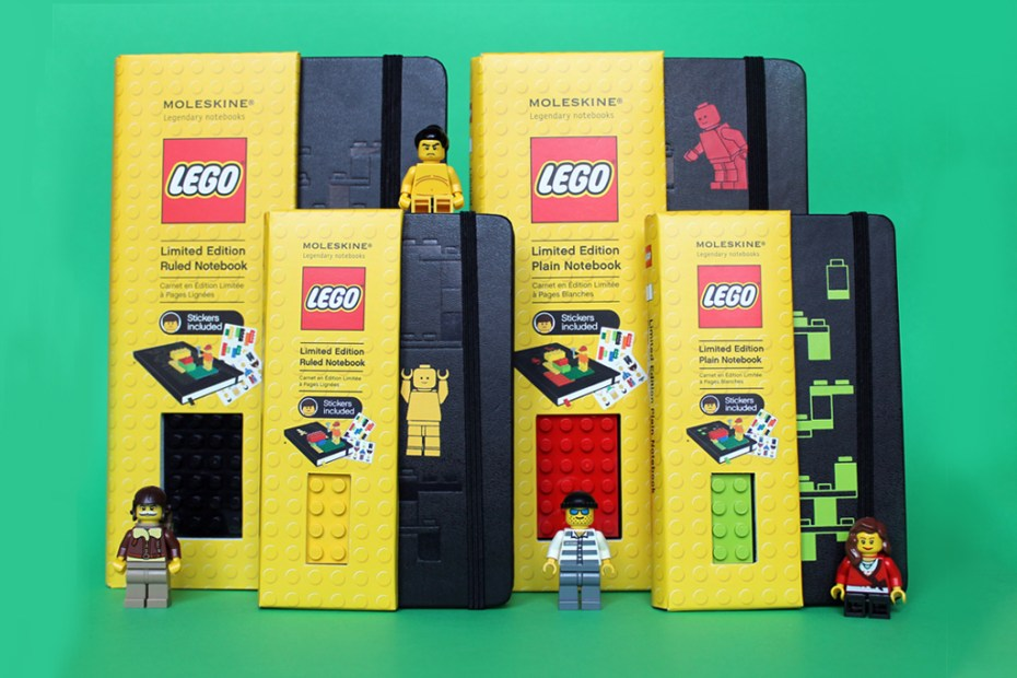 Image of LEGO x Moleskine Notebooks Collection
