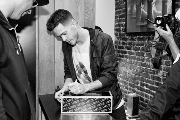 Image of Levi Maestro x Vans Vault Collaboration Sneaker Launch Party Recap