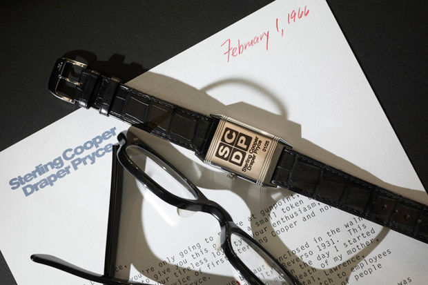 Image of Mad Men Tribute Jaeger-LeCoultre Reverso Ultra-Thin Watch