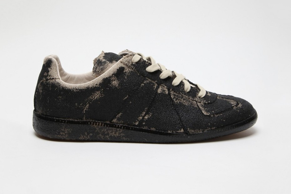 Image of Maison Martin Margiela Hand-Painted Replica Sneaker