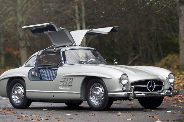 Image of 1955 Mercedes-Benz 300SL Alloy Sells for Record $4.62 Million
