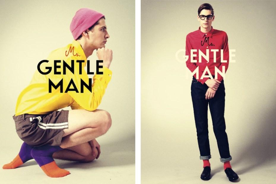 Image of MR.GENTLEMAN 2012 Spring/Summer Collection Lookbook