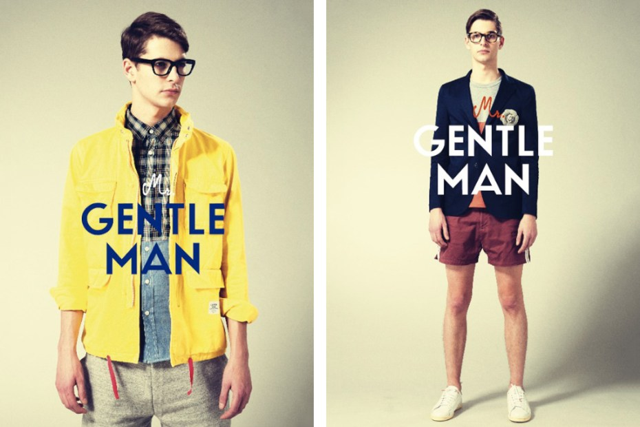 Image of MR.GENTLEMAN 2012 Spring/Summer Collection Lookbook