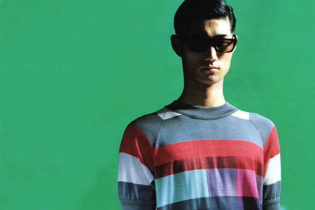 "Image of N.HOOLYWOOD 2012 Spring/Summer ""TITLE BACK"" Editorial by MEN'S NON-NO"
