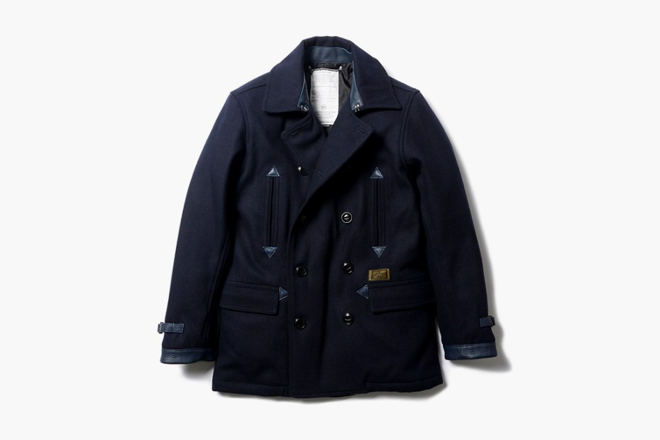 Image of NEIGHBORHOOD Classic Wool Pea Coat