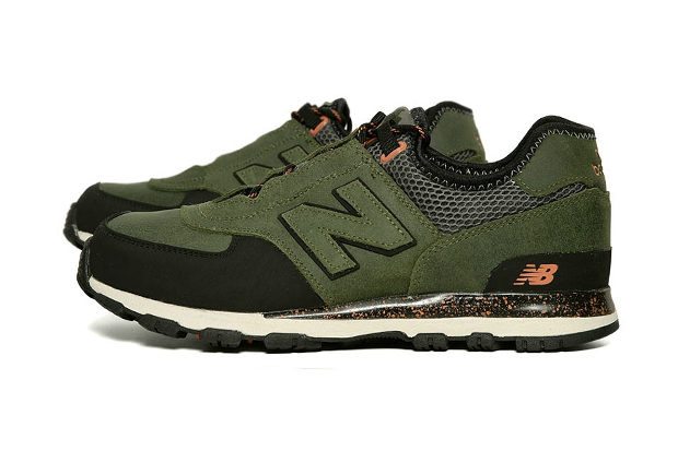 Image of New Balance ML581AT Trail Green/Orange
