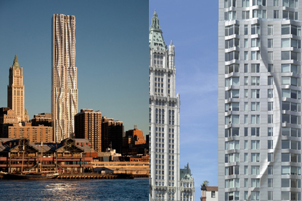 Image of New York by Gehry
