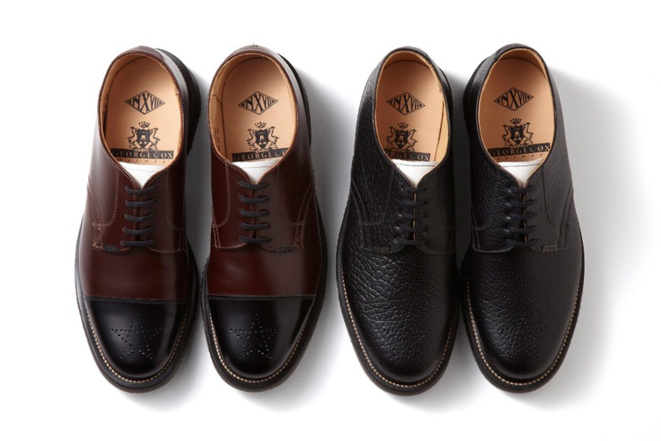Image of NEXUSVII x George Cox Officer Shoes