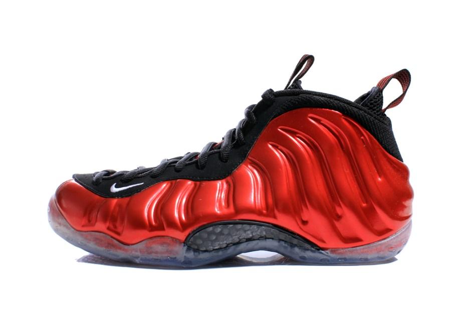 Image of Nike Air Foamposite One Metallic Red