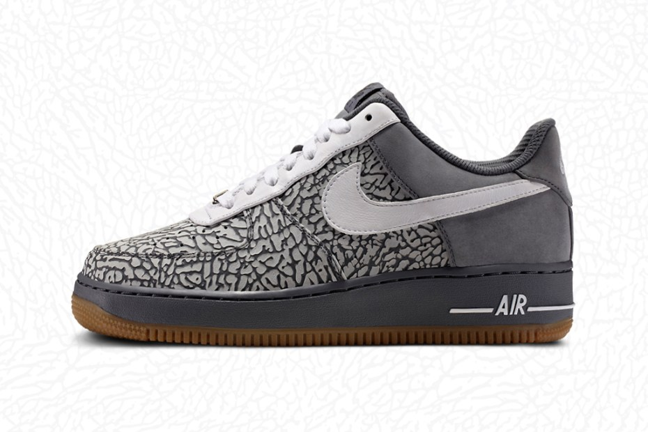 Image of Nike Air Force 1 iD: Elephant Print Option