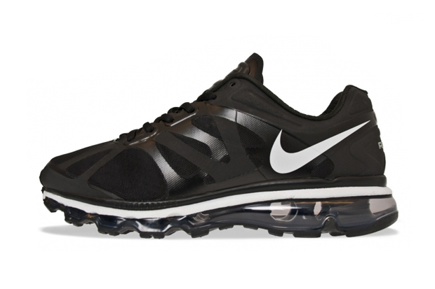 Image of Nike Air Max 2012 Black/Pure Platinum