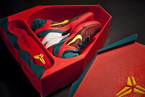 "Image of Nike Kobe VII System Supreme ""Year of the Dragon"" Pack"
