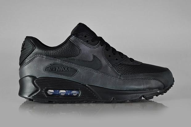 Image of Nike Sportswear Air Max 90 Premium Black/Black