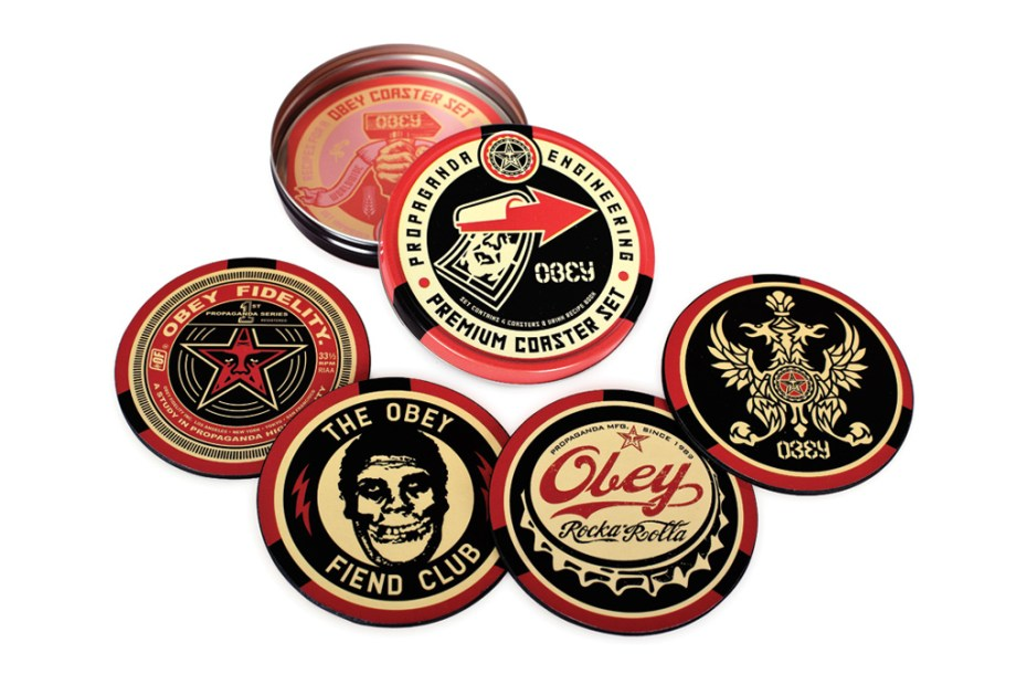 Image of OBEY 2012 Coaster Set