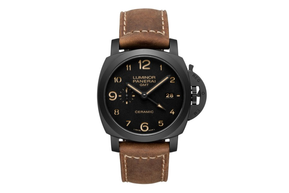 Image of Panerai Luminor 1950 3 Days GMT Automatic Ceramica