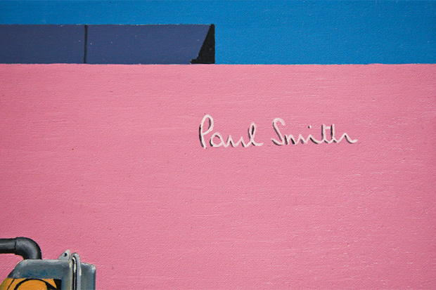 Image of John Tierney x Paul Smith Melrose Store Art Collection