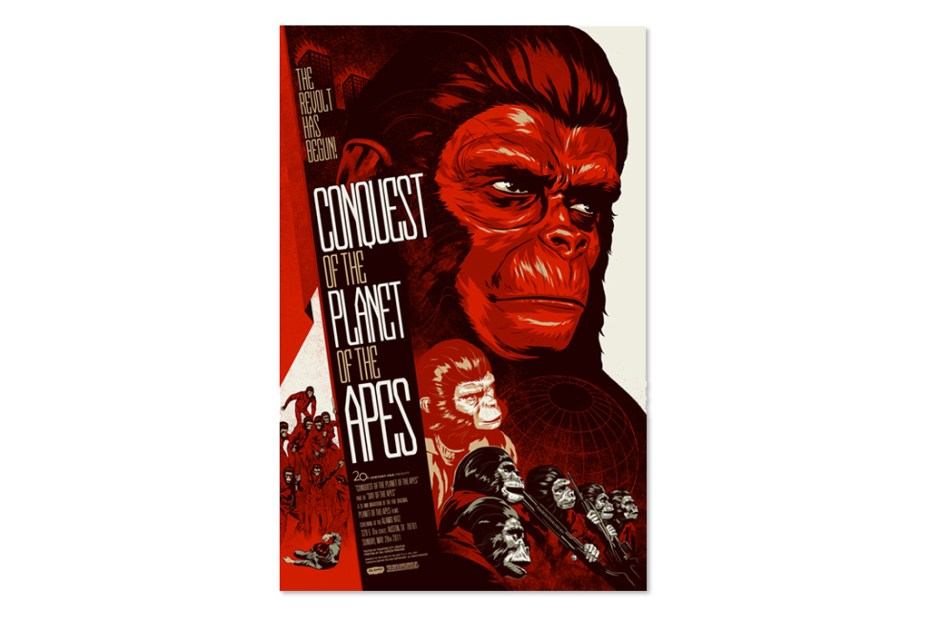 Image of Planet of the Apes Print Series