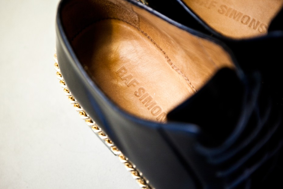 Image of Raf Simons 2012 Spring/Summer Chain Oxford