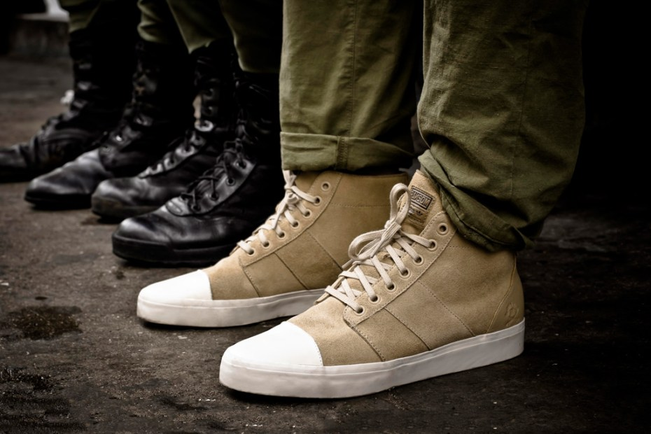 Image of Ransom by adidas Originals 2012 Spring/Summer Army Trainer Mid