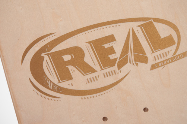 Image of Benny Gold x REAL Skateboards Japan Exclusive Decks
