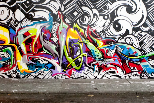 Image of REVOK x STEEL x REYES New Mural In San Francisco