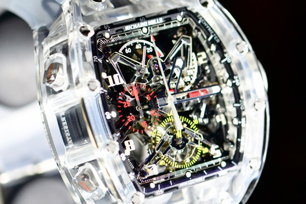 Image of Richard Mille RM056 Split Seconds Chronograph Further Look