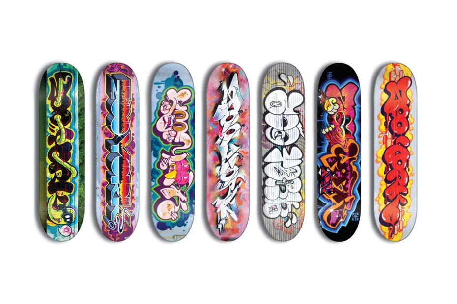 Image of RIME & TheSeventhLetter for ZOOYORK Skate Decks
