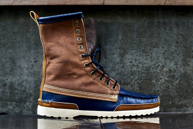 Image of Ronnie Fieg x Quoddy Maine Woodsman Boot