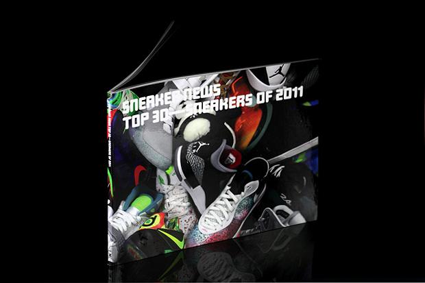 Image of Sneaker News: Top 30 Sneakers of 2011 Book