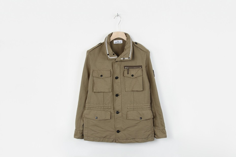 Image of Stone Island David TC Khaki Field Jacket