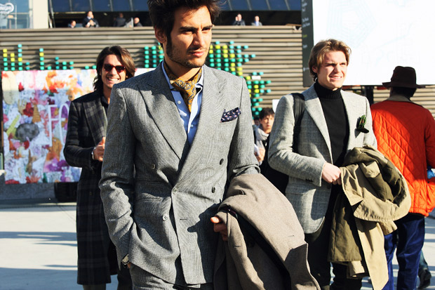 Image of 2012 Pitti Uomo Street Style - Day 1