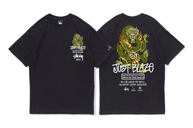 Image of Stussy x Magic Stick x Just Blaze MAKE OR TAKE T-Shirt