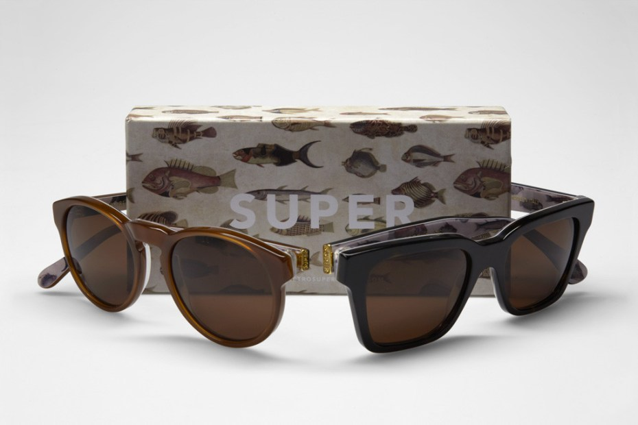 "Image of SUPER Sunglasses 2012 Spring Visiva Series ""Poissons"""