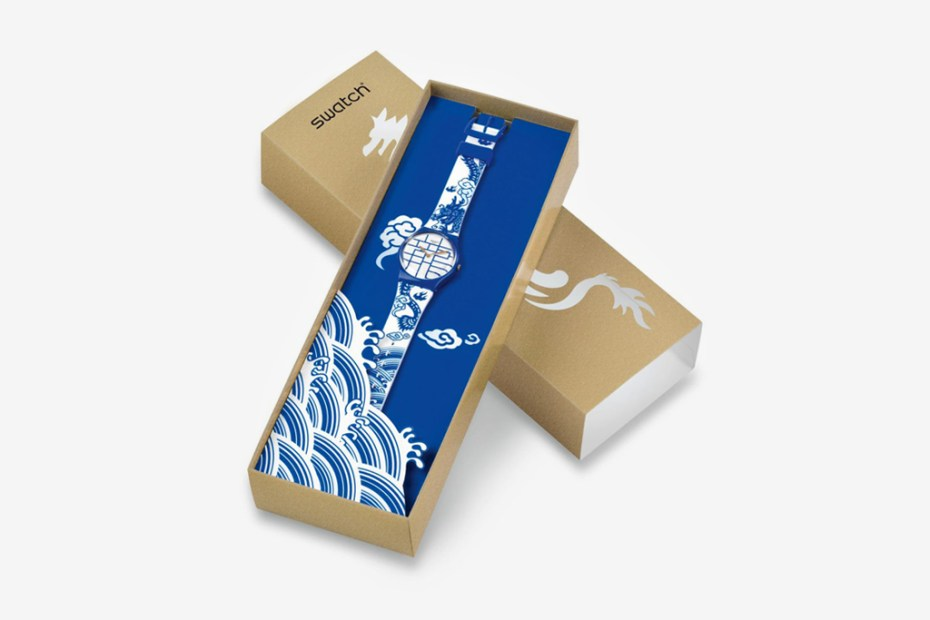 "Image of Swatch ""Year of the Dragon"" Limited Edition Watch"