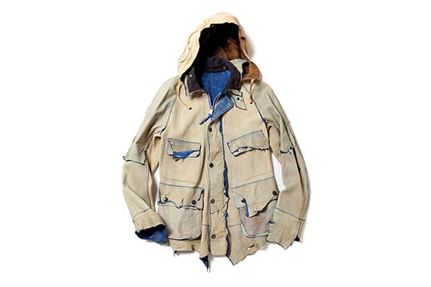 "Image of TAKAHIROMIYASHITA TheSololst. 2012 Spring/Summer ""eaRTH dye"" Jacket"