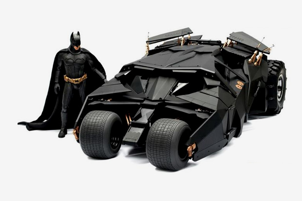 Image of The Dark Knight: 1/6th Scale Batmobile Collection