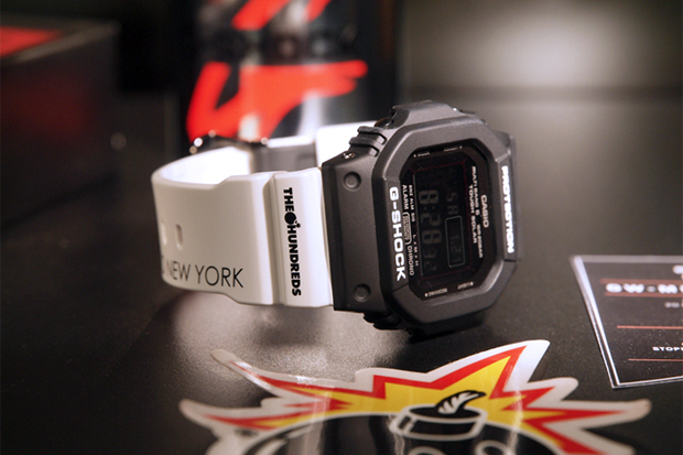 Image of The Hundreds x Casio G-Shock GW 5610 Preview