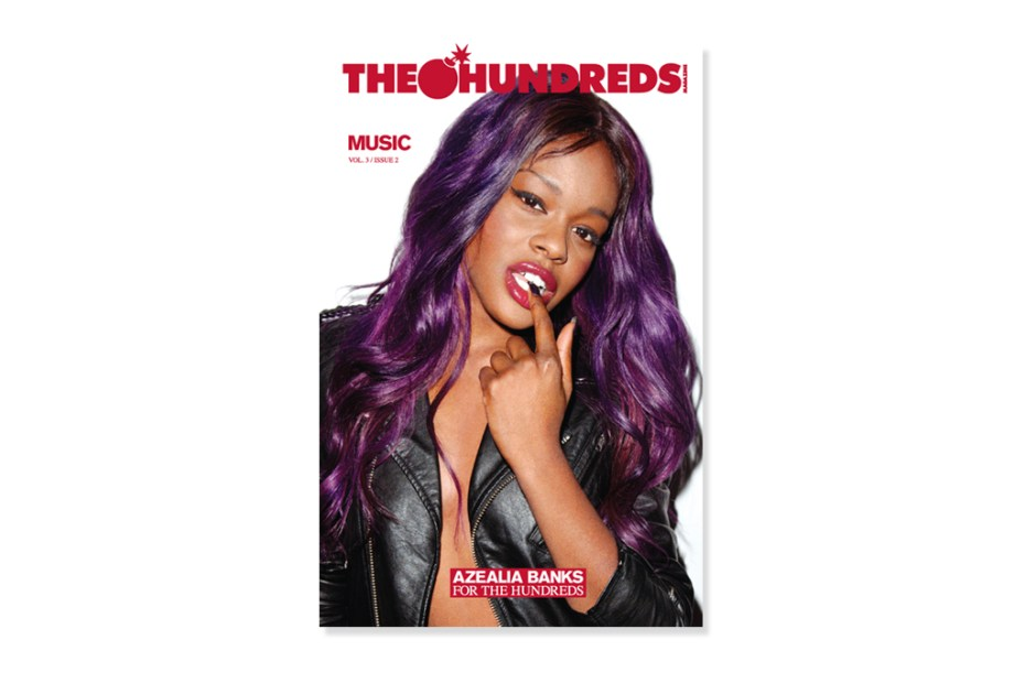 Image of The Hundreds Magazine Vol. 3 Issue 2 featuring Azealia Banks