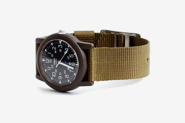 """Image of Timex Camper """"Olive Green"""""""