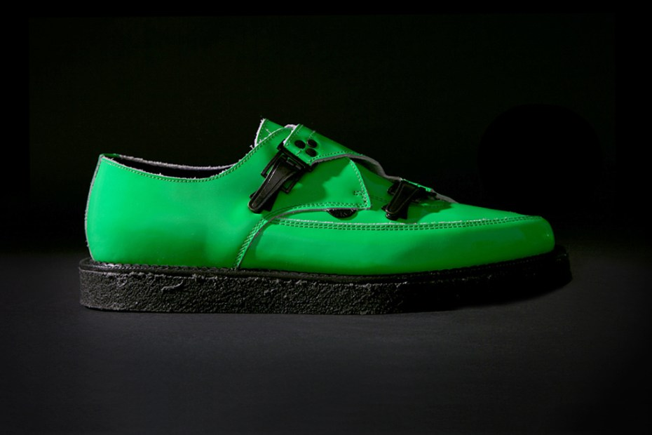 Image of Underground for Mugler Neon Patent Leather Shoe