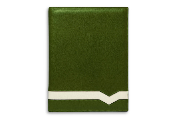 Image of Valextra Leather iPad Case