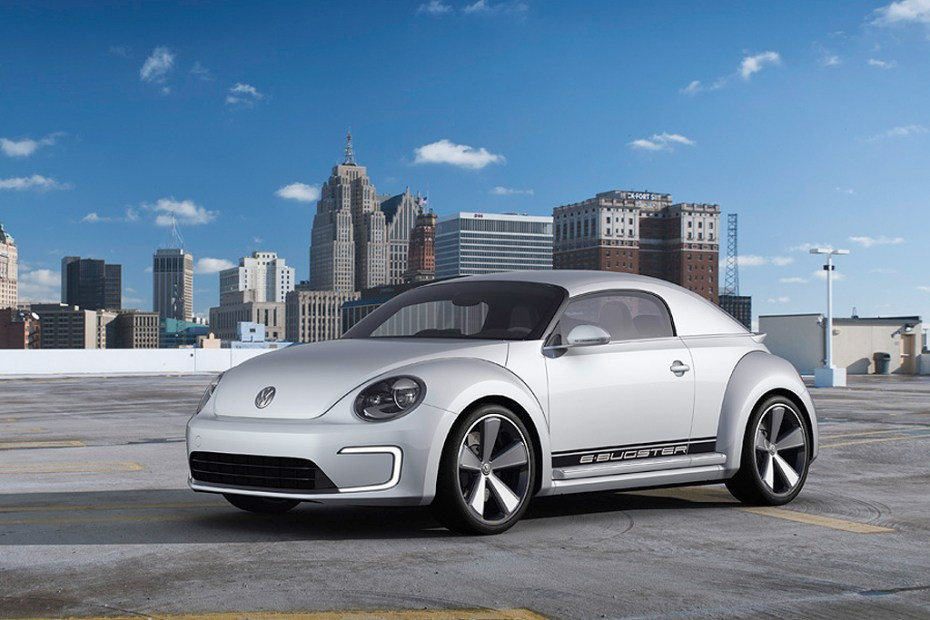 Image of Volkswagen Beetle E-Bugster Concept