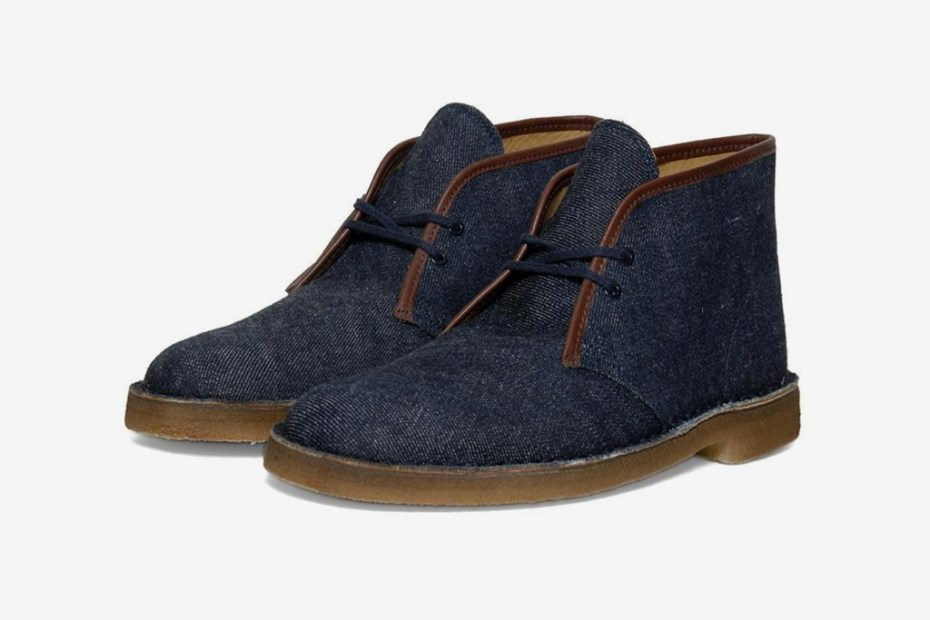 Image of Warehouse & Co. x Clarks Originals Desert Boot