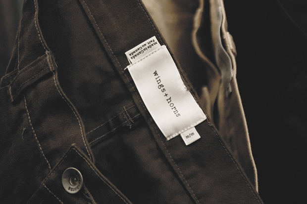Image of wings + horns 2012 Fall/Winter Collection Preview